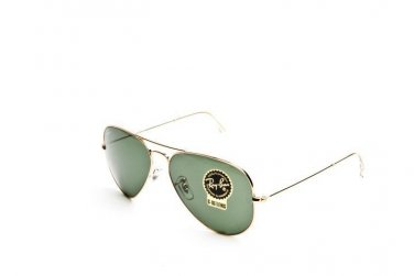 Ray Ban Sunglasses 3025 L0205 58/14 Aviator Arista 100% Original New with Case