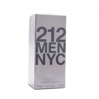 Carolina Herrera 212 Men Homens Hombres EDT 100ml 3.4oz 100% Original NEW In Box