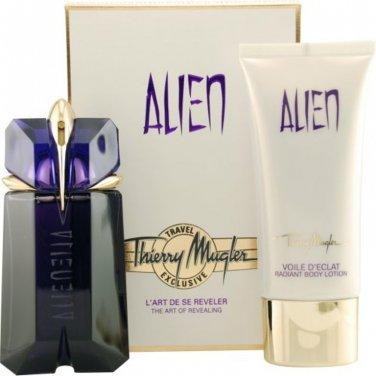 Thierry Mugler ALIEN SET Alien Perfume EDP 60ml + Body Milk 100ml 100%Original and Sealed