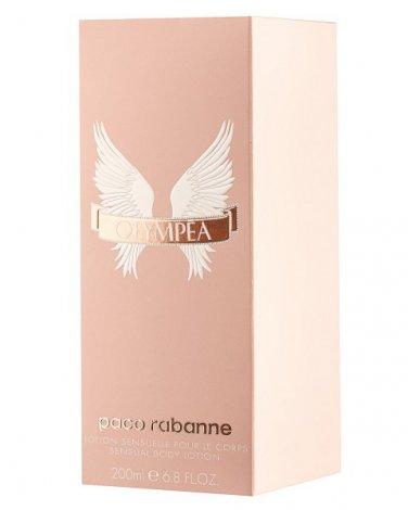 Paco Rabanne OLYMPEA 200ml 6.8oz Body Milk (Lotion) for Women 100% Original
