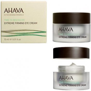 AHAVA Time To Revitalize Extreme Firming Eye Cream 15ml 0.5oz 100% Original