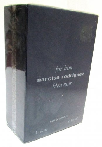 Narciso Rodriguez FOR HIM BLEU NOIR EDT 100ml 3.3oz Eau de Toilette NEW ORIGINAL