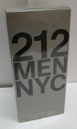 Carolina Herrera 212 MEN EDT Spray 200ml 6.7oz NEW SEALED BOX & 100% ORIGINAL