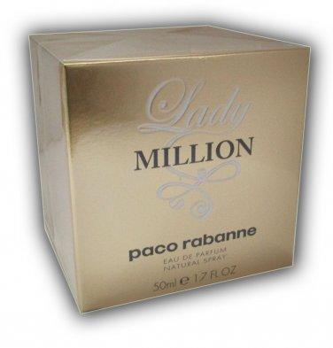 Paco Rabanne Lady Million EDP 50ml 1.7oz 100% ORIGINAL NEW IN BOX Perfume