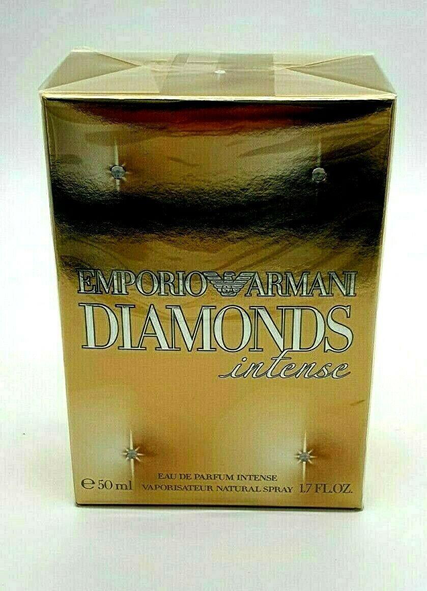 Emporio Armani Diamonds Intense EDP 50ml 1.7oz Women Brand New 100% Original