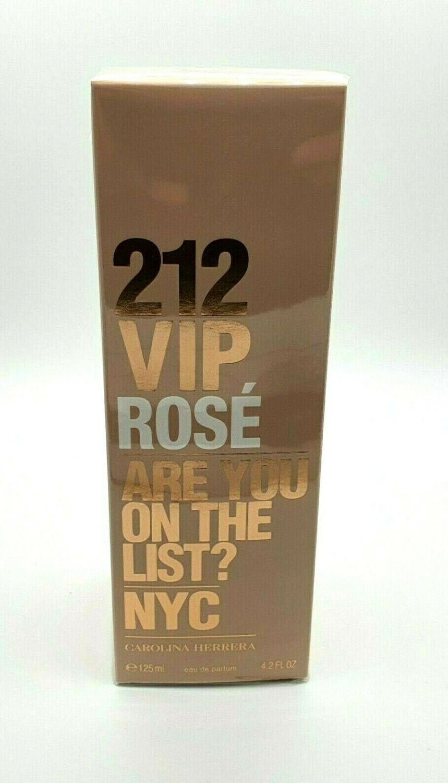 Carolina Herrera 212 VIP Rose EDP 125ml 4.2oz Brand New Sealed 100% Original
