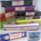 Satya Nagchampa 15g Box Traditional Indian INCENSE STICKS Fragrance Choice