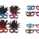 Shudehill Masquerade Metallic Lustre EYE MASK Ball Carnival Mardis Gras Costume