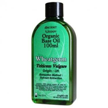 100ml Bottle WHEATGERM ORGANIC BASE OIL Carrier Oil Aromatherapy Massage