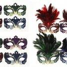 FANCY DRESS VENETIAN MASK Verona Eye Mask Masquerade Ball Costume Carnival Party