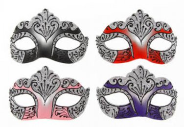 FANCY DRESS VENETIAN MASK Glitter Filigree Eye Mask Masquerade Ball Costume