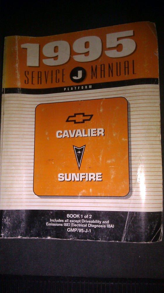 1995 Chevrolet Cavalier Pontiac Sunfire Service Manual
