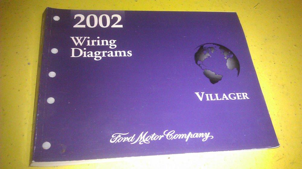 Genuine Mercury Villager 2002 Wiring Diagrams Fcs  Fcs1222002