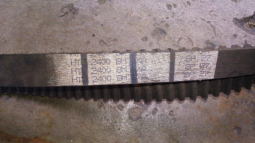 GENUINE BANDO SYNCHRO-LINK BELT 2400-8M-XA / 8P27 NEW SURPLUS
