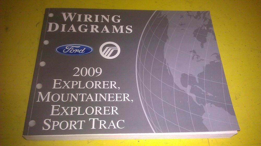 Genuine Ford Explorer Mountaineer Sport Trac 2009 Wiring