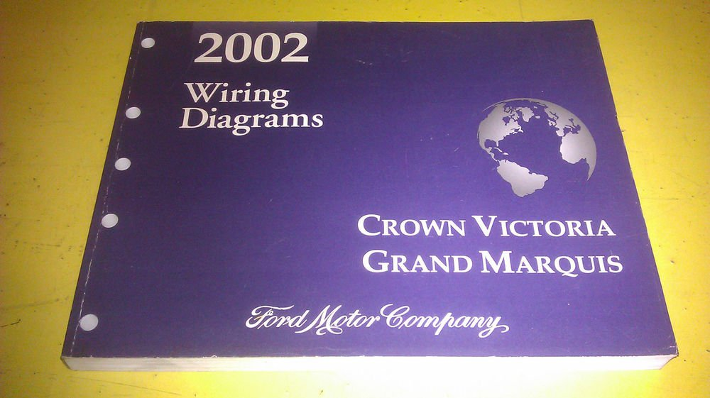 Ford Crown Victoria Grand Marquis 2002 Wiring Diagrams Fcs
