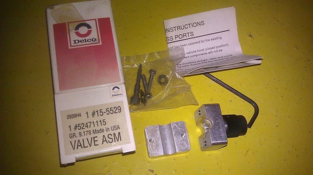 Genuine Gm Delco Oem Ac Valve Assembly 52471115    15