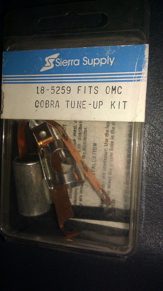 Genuine Sierra Tune Up Kit Fits Omc Cobra Part   18