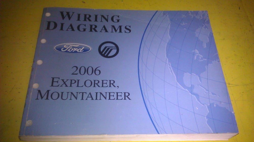 Genuine Ford Explorer Mercury Mountaineer 2006 Wiring