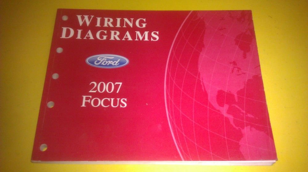 Genuine Ford Focus 2007 Wiring Diagrams Fcs  Fcs1295007