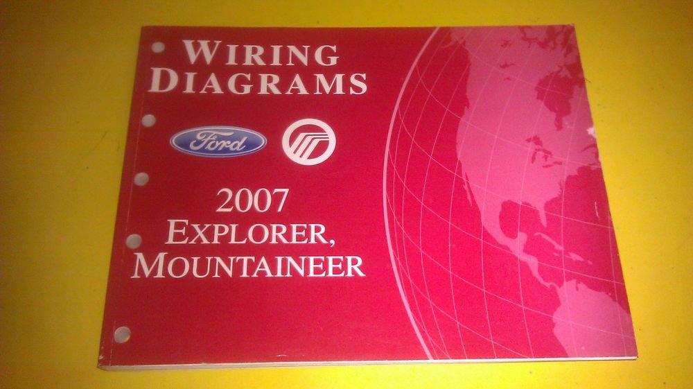 Genuine Ford Explorer    Mercury Mountaineer 2007 Wiring