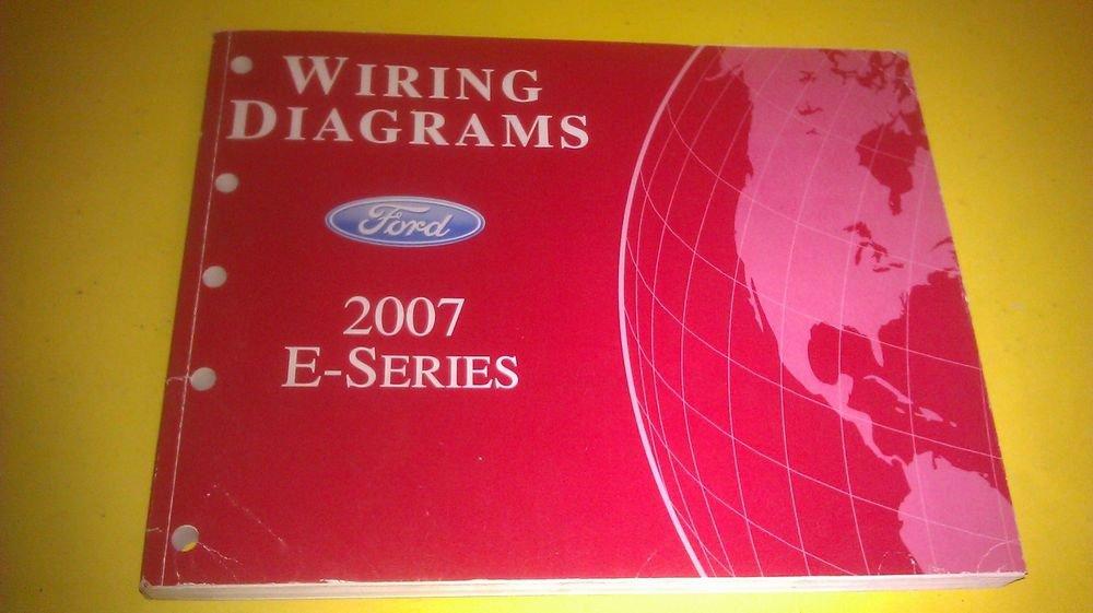Genuine Ford E Series 2007 Wiring Diagrams Diagrama De Cableado Fcs