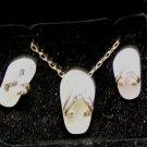 Flip-Flop Jewelry set