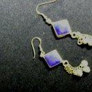 Tribal Lapis Lazuli Inlay Earrings