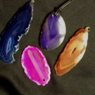 Item No. 00502 Brazilian Agate slab Pendants