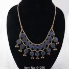 Item No.01256Tribal  Lapis Lazuli Necklace in Sterling Setting