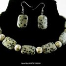 Item No.00379 Jasper Set in Non-Metal Setting