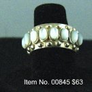 Item No. 00845 Moonstone Ring: in Sterling Setting