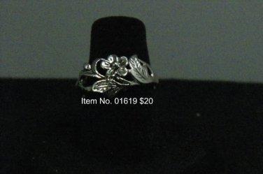 Item No. 1619  Tribal Ring in Artisan Metal Setting