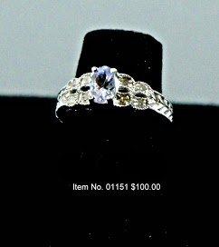 Item No. 01151 Tanzanite Ring