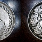1920-B Swiss Half Franc World Silver Coin - Switzerland