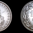 1914-B Swiss Franc World Silver Coin - Switzerland