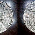 1933 Panamanian 1/10 Balboa World Silver Coin - Panama