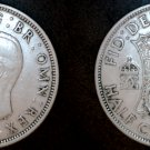 1941 Great Britain Half Crown World Silver Coin - UK