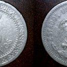 1909 Mexican 5 Centavo World Coin - Mexico
