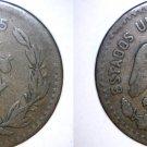 1925 Mexican 5 Centavo World Coin - Mexico