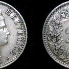1943 Swiss 20 Rappen World Coin - Switzerland