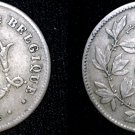 1904 Belgium 10 Centimes World Coin