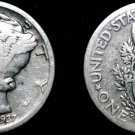 1937-P Mercury Dime Silver