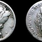 1939-P Mercury Dime Silver