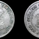 1926 Straits Settlements 10 Cent World Silver Coin - British East India Company