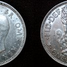 1941 Great Britain 1 Shilling World Silver Coin - UK
