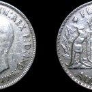 1943 M Australian Florin Silver World Coin - Australia