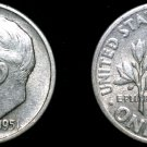 1951-S Roosevelt Dime Silver