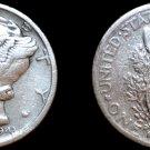 1943-S Mercury Dime Silver