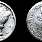 1944-S Mercury Dime Silver